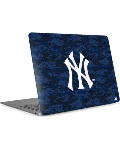 New York Yankees Digi Camo Apple MacBook Air Skin