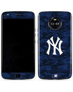 New York Yankees Digi Camo Moto X4 Skin