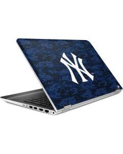 New York Yankees Digi Camo HP Pavilion Skin