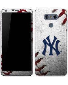 New York Yankees Game Ball LG G6 Skin