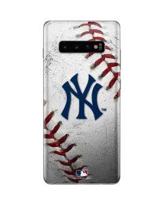 New York Yankees Game Ball Galaxy S10 Plus Skin
