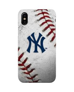 New York Yankees Game Ball iPhone XS Max Lite Case