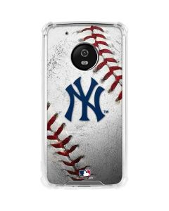 New York Yankees Game Ball Moto G5 Plus Clear Case