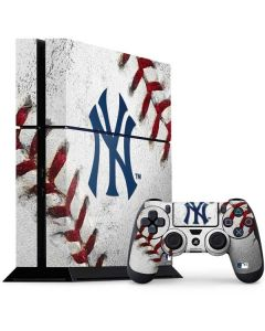 New York Yankees Game Ball PS4 Console and Controller Bundle Skin