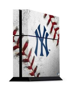 New York Yankees Game Ball PS4 Console Skin