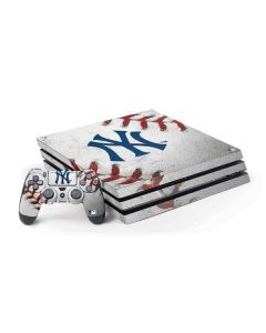 New York Yankees Game Ball PS4 Pro Bundle Skin