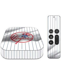 New York Yankees Home Jersey Apple TV Skin