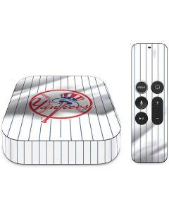 New York Yankees Home Jersey Apple TV Skin