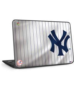 New York Yankees Home Jersey HP Chromebook Skin
