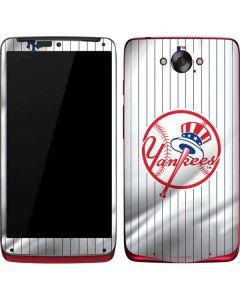 New York Yankees Home Jersey Motorola Droid Skin