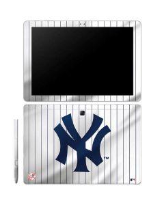 New York Yankees Home Jersey Galaxy Book 12in Skin