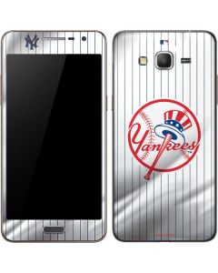 New York Yankees Home Jersey Galaxy Grand Prime Skin