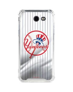 New York Yankees Home Jersey Galaxy J3 (2017) Clear Case