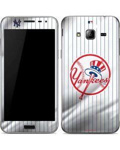 New York Yankees Home Jersey Galaxy J3 Skin