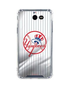 New York Yankees Home Jersey Galaxy J7 (2017) Clear Case