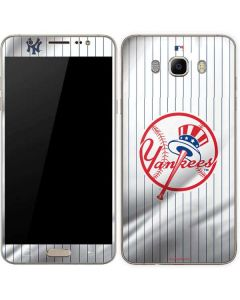 New York Yankees Home Jersey Galaxy J7 Skin