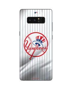 New York Yankees Home Jersey Galaxy Note 8 Skin