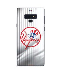 New York Yankees Home Jersey Galaxy Note 9 Skin