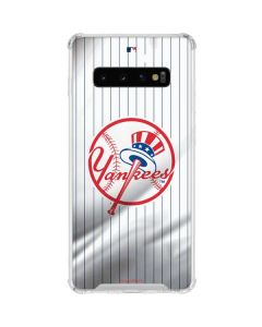 New York Yankees Home Jersey Galaxy S10 Clear Case