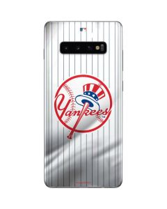 New York Yankees Home Jersey Galaxy S10 Plus Skin