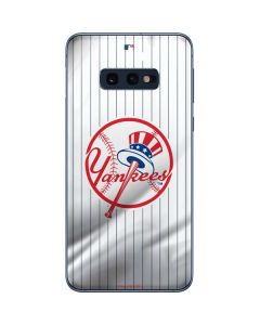 New York Yankees Home Jersey Galaxy S10e Skin