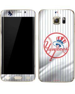 New York Yankees Home Jersey Galaxy S6 edge+ Skin