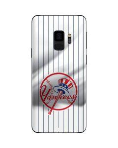 New York Yankees Home Jersey Galaxy S9 Skin