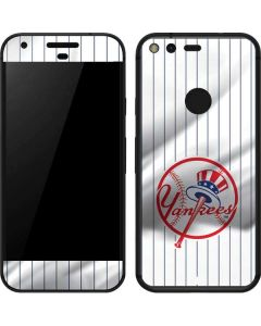 New York Yankees Home Jersey Google Pixel Skin