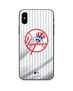 New York Yankees Home Jersey iPhone X Skin