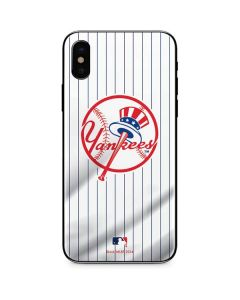 New York Yankees Home Jersey iPhone XS Skin
