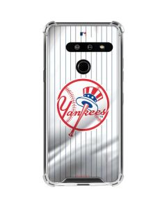 New York Yankees Home Jersey LG G8 ThinQ Clear Case