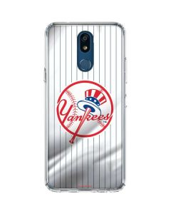 New York Yankees Home Jersey LG K30 Clear Case