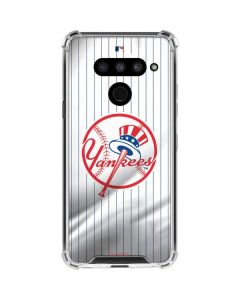New York Yankees Home Jersey LG V50 ThinQ Clear Case
