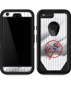 New York Yankees Home Jersey Otterbox Defender Pixel Skin