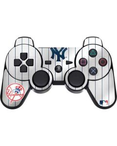 New York Yankees Home Jersey PS3 Dual Shock wireless controller Skin