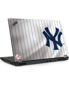 New York Yankees Home Jersey Lenovo ThinkPad Skin