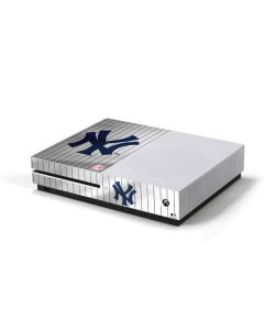 New York Yankees Home Jersey Xbox One S Console Skin