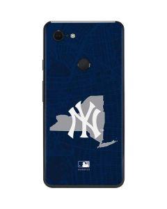 New York Yankees Home Turf Google Pixel 3 XL Skin