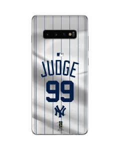 New York Yankees Judge #99 Galaxy S10 Plus Skin