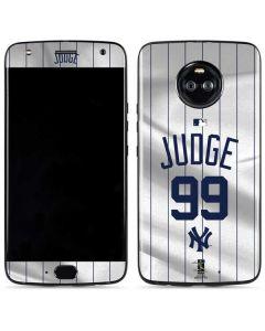 New York Yankees Judge #99 Moto X4 Skin