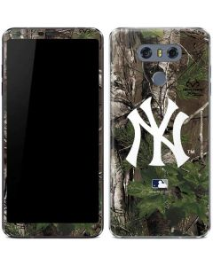 New York Yankees Realtree Xtra Green Camo LG G6 Skin