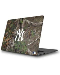 New York Yankees Realtree Xtra Green Camo Apple MacBook Pro Skin
