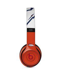 Denver Broncos Zone Block Beats Solo 3 Wireless Skin