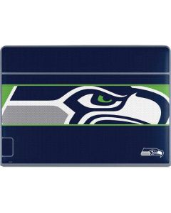 Seattle Seahawks Zone Block Galaxy Book Keyboard Folio 12in Skin