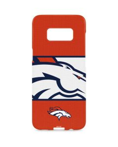 Denver Broncos Zone Block Galaxy S8 Plus Lite Case