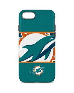 Miami Dolphins Zone Block iPhone 7 Pro Case