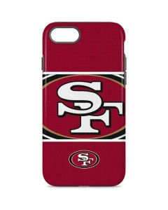 San Francisco 49ers Zone Block iPhone 8 Pro Case