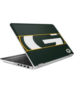 Green Bay Packers Zone Block HP Pavilion Skin