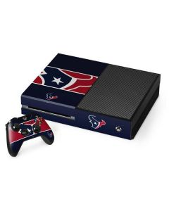 Houston Texans Zone Block Xbox One Console and Controller Bundle Skin