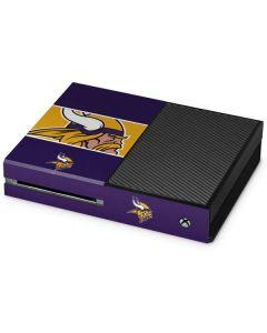 Minnesota Vikings Zone Block Xbox One Console Skin